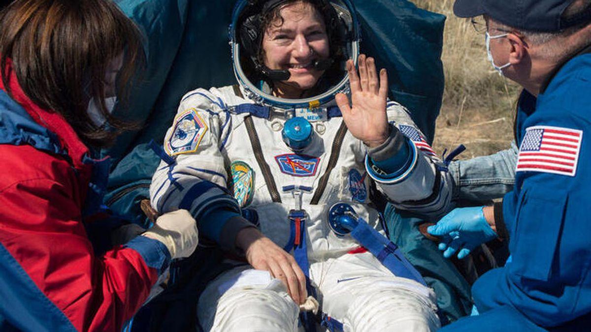 La nave espacial Soyuz MS-15 regresa a la Tierra entre estrictas medidas por el coronavirus