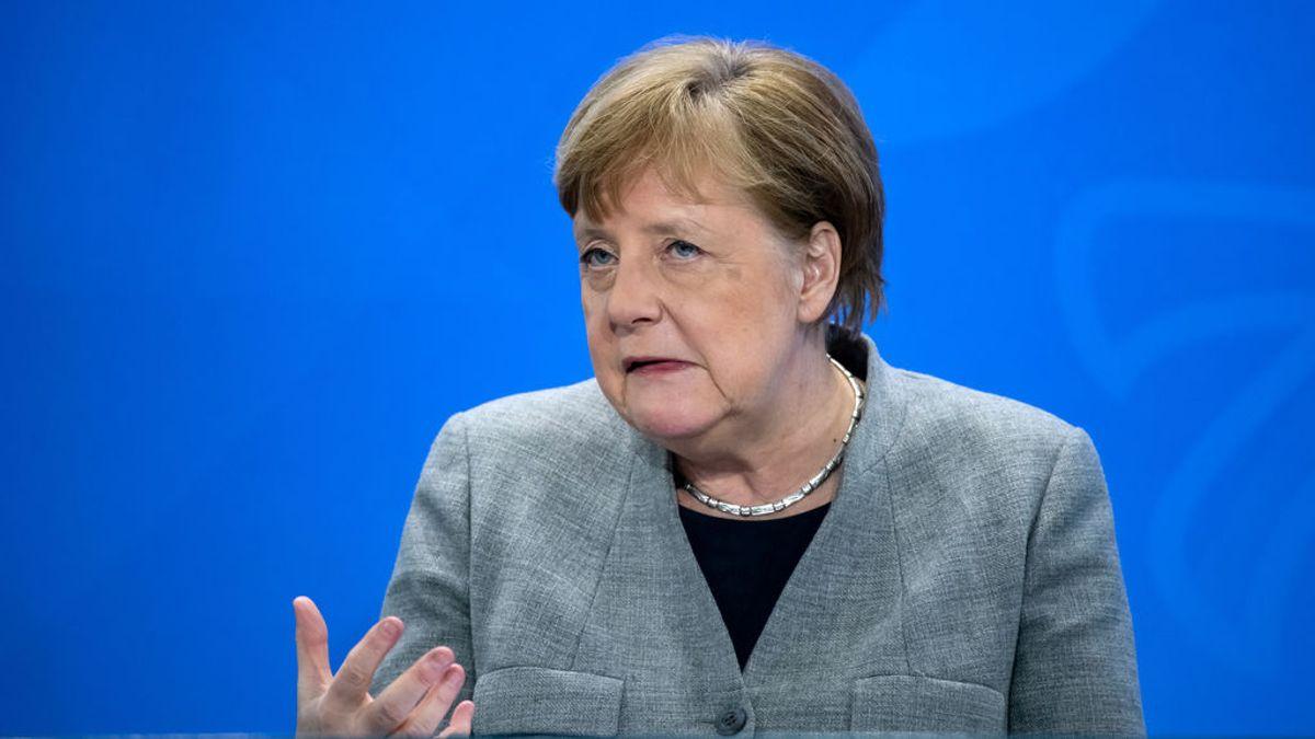Merkel rechaza el lenguaje bélico para enfrentarse al virus