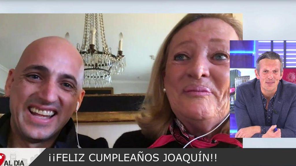 Joaquín Prat se emociona: su madre y hermanos le felicitan por su cumpleaños, que cae en cuarentena