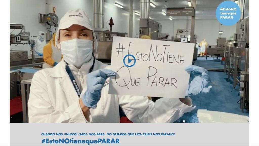 Mediaset España se suma a la iniciativa 'Esto no tiene que parar' para dinamizar la actividad económica tras la crisis del COVID-19