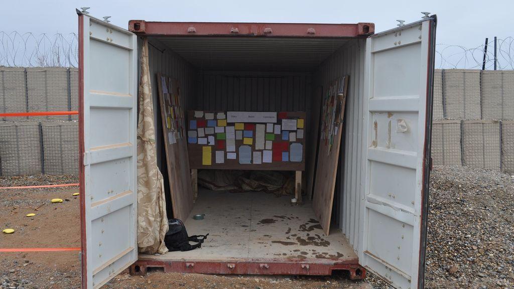 Derek Eland, 'Diary Rooms' en Afganistán