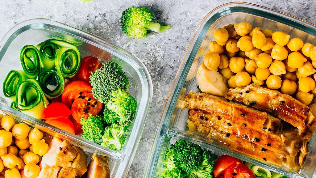 El batch cooking permitirá que organices el menú de cada día de la semana.