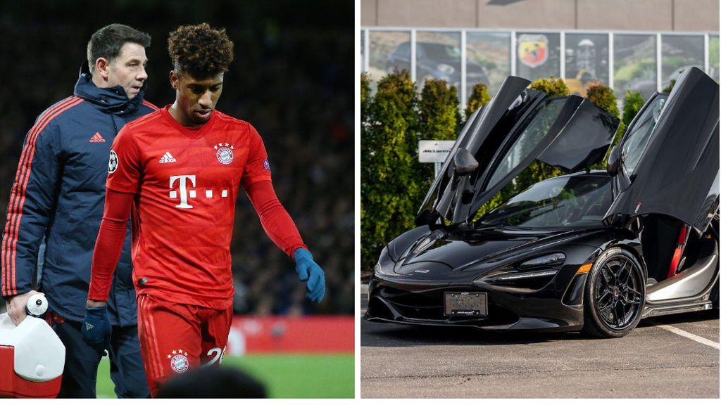 El Bayern multa a Coman y le obliga a pedir perdón por acudir a entrenar con un McLaren 720 S de 285.000 euros