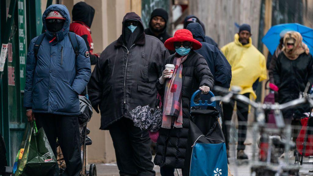 Pandemia mundial, Estados Unidos, Nueva York