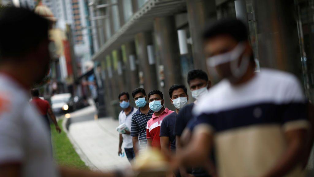 Los contagios en Singapur se disparan hasta los 6.000 tras la segunda ola provocada por casos importados