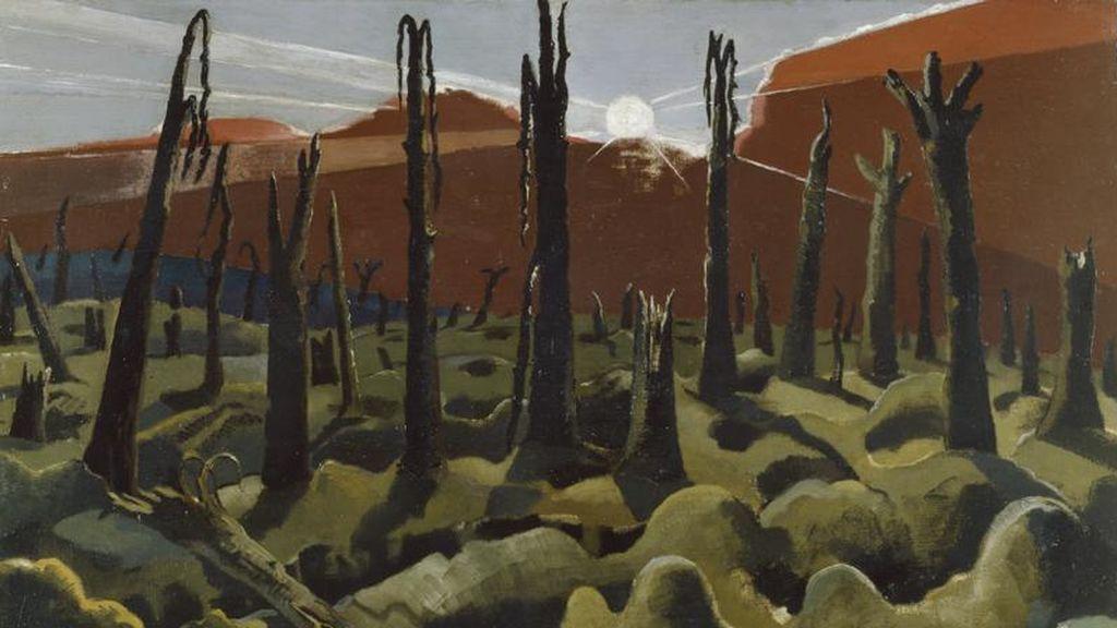 Paul Nash, 'Estamos construyendo un nuevo mundo', 1918