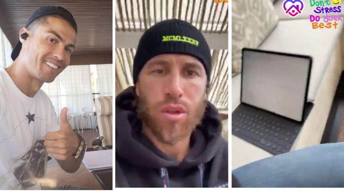 Sergio Ramos, Cristiano y Piqué, con Shakira, vuelven al colegio: aprovechan el coronavirus para volver a estudiar