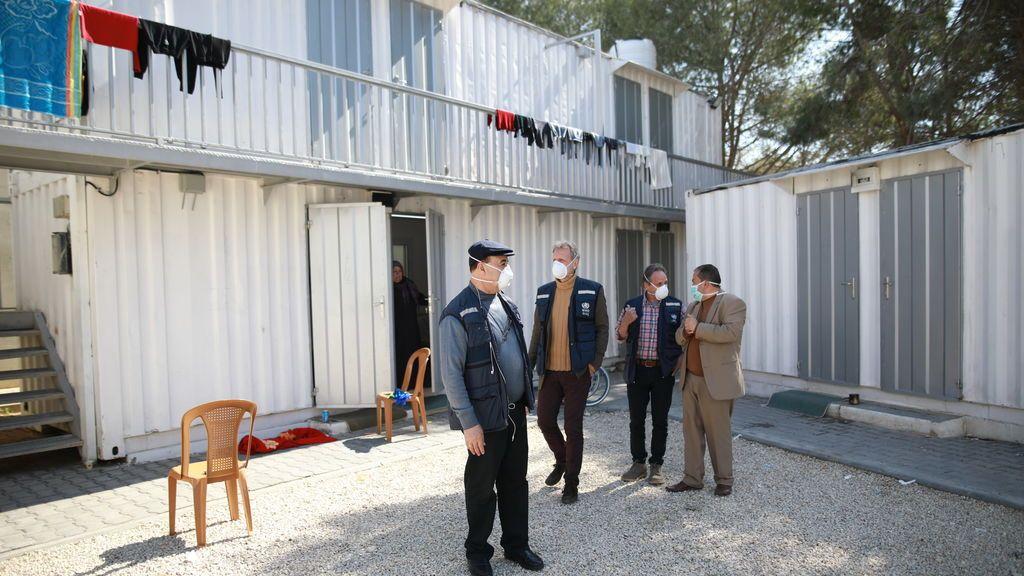 Instalaciones para pasar la cuarentena en Gaza supervisadas por la OMS