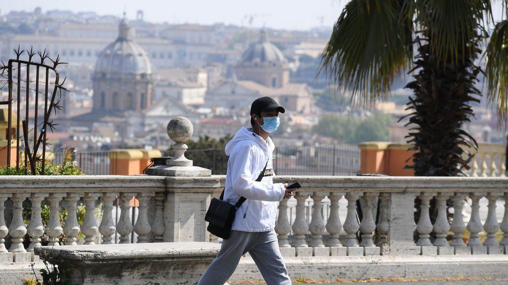 Cifras de contagios y muertos en Italia