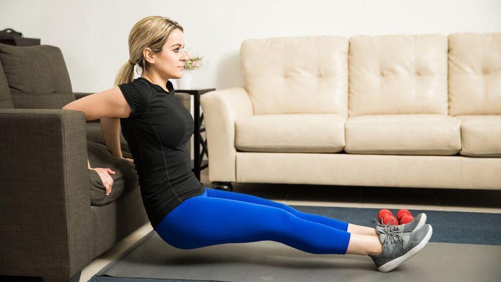 Ejercicios de triceps para hacer en casa