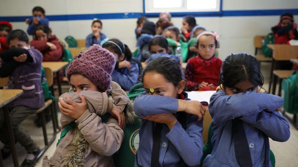 El coronavirus condena a la pobreza a cuatro millones de niños en Oriente Próximo y el norte de África