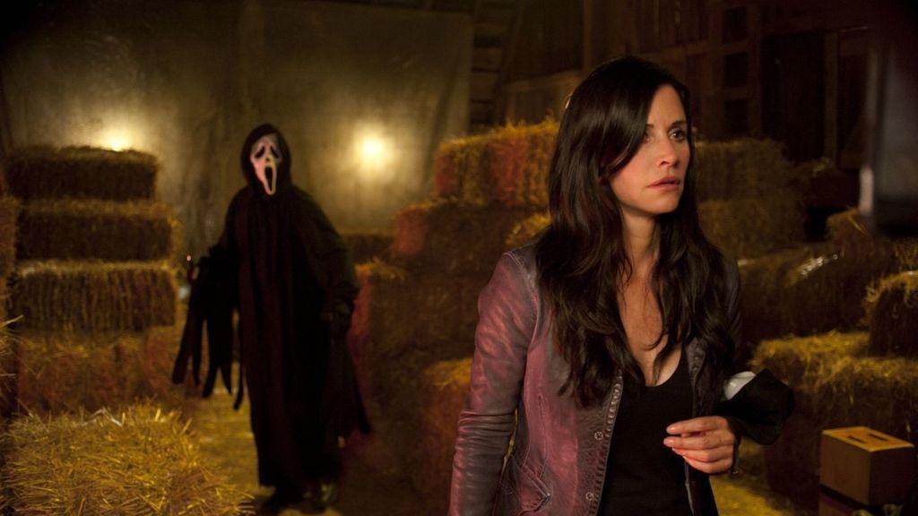 Courteney Cox en 'Scream 4'.
