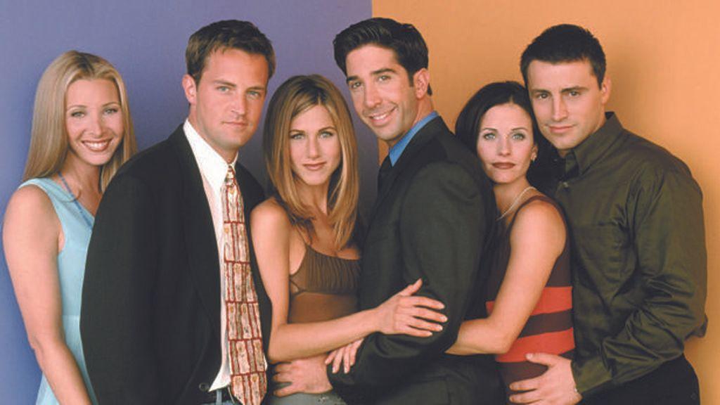 El elenco de 'Friends'.