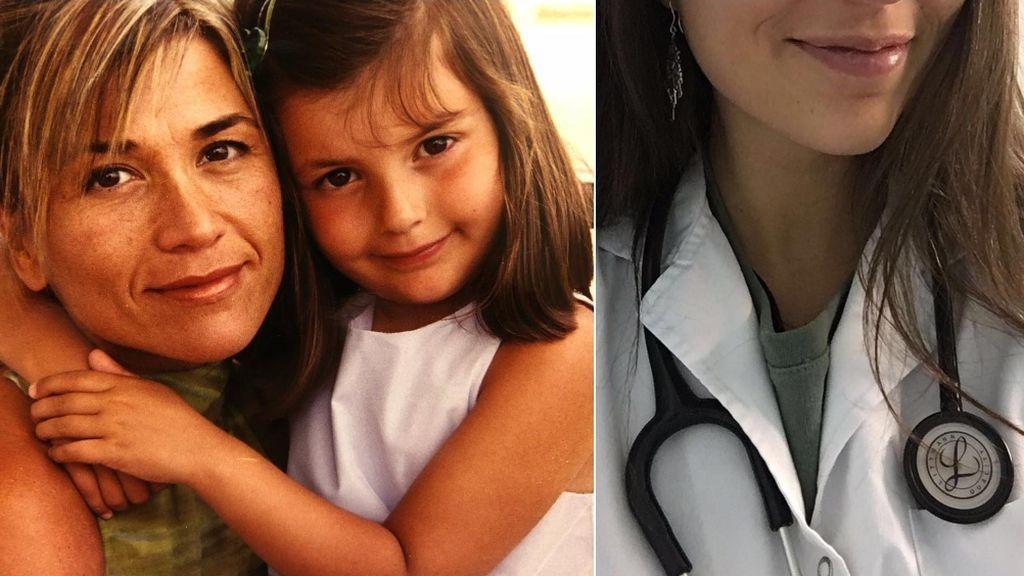 """Candela, la hija médico de Julia Otero que es una """"guerrera"""" contra el coronavirus: """"Orgullo de mami"""""""