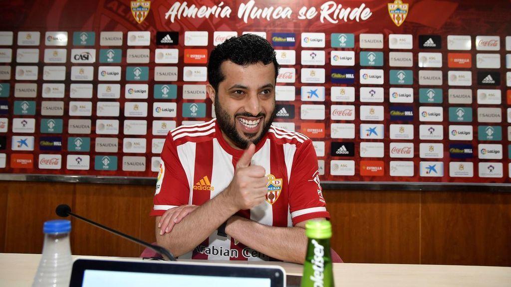El jeque del Almería no bajará los sueldos de los jugadores ni tampoco el del resto de trabajadores