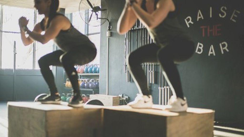 Ejercicio de saltos para fortalecer piernas