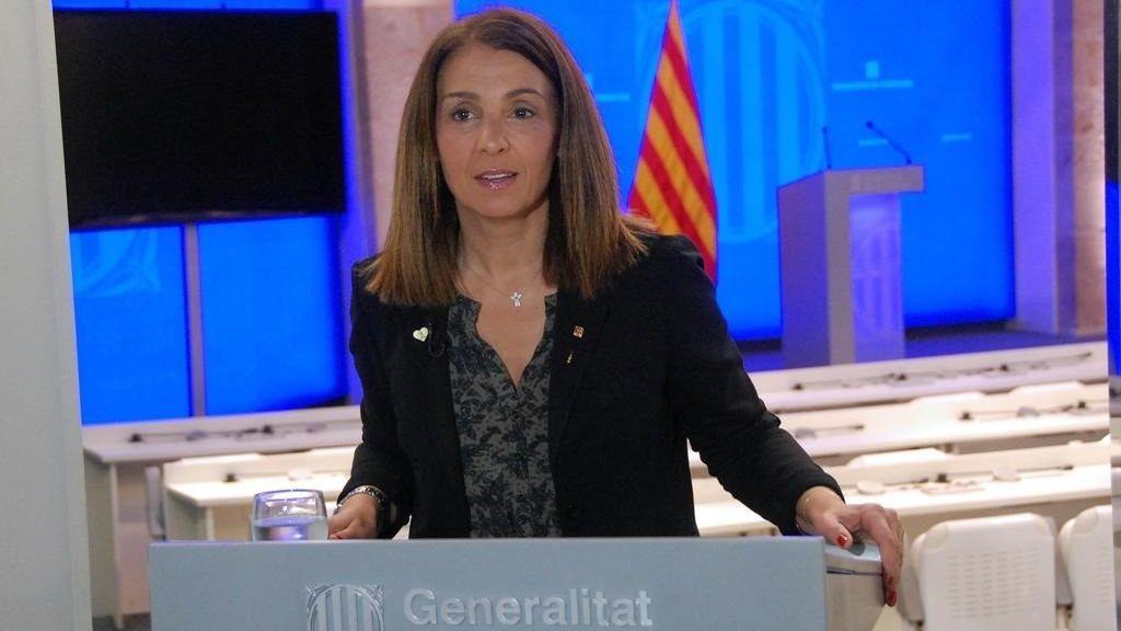 """Meritxell Budó, portavoz del Govern: """"Con la independencia no tendríamos tantos muertos ni tantos infectados"""""""