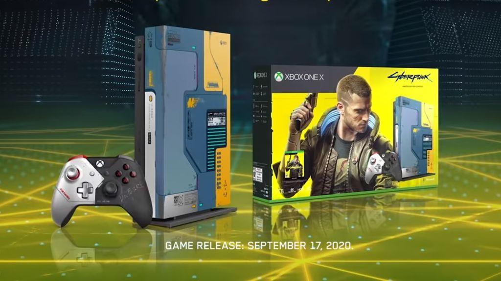 Xbox One X de Cyberpunk 2077