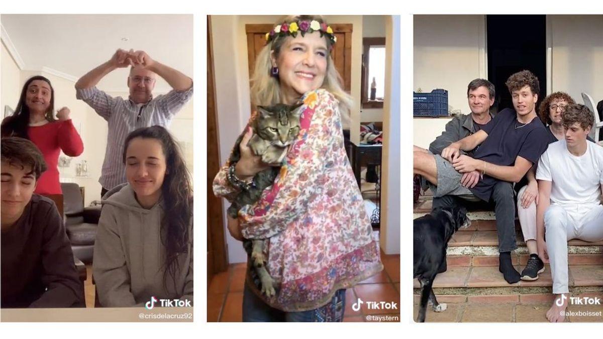 Familias en TikTok: el poder unificador de la red social adolescente en tiempos de cuarentena