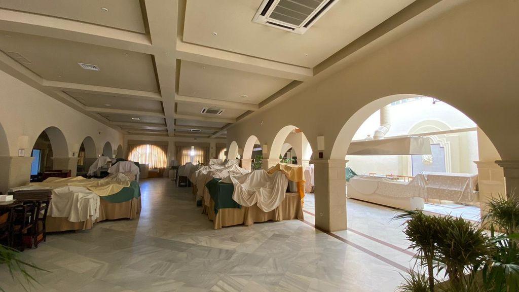 Interior del Hotel Playa de la Luz de Rota