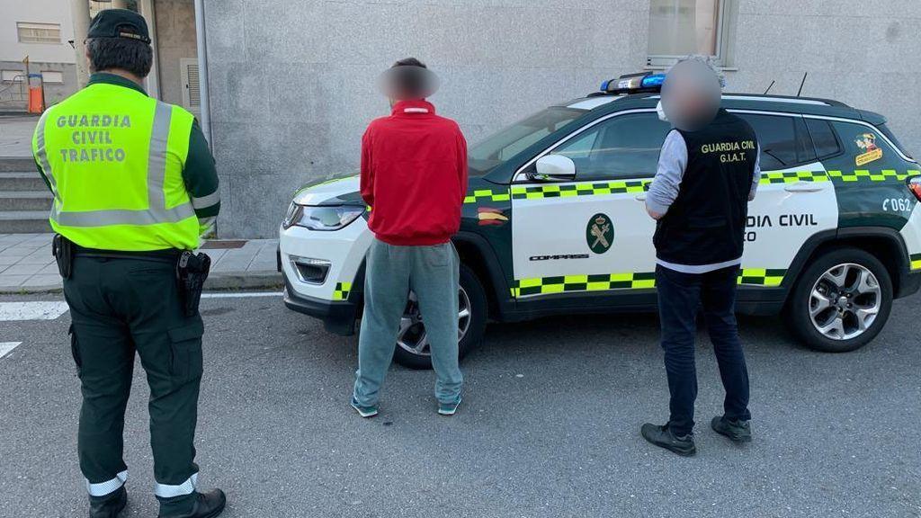 Detenido por escupir a la cara a un Guardia Civil al denunciarlo por incumplir el confinamiento