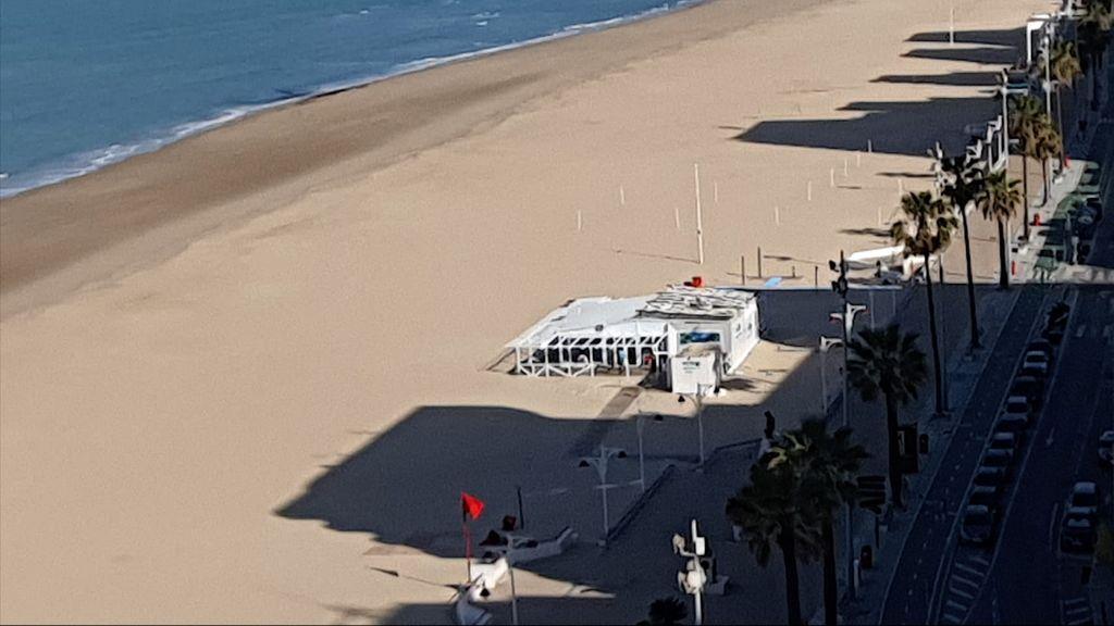 Chiringuito El Potito en la playa de la Victoria de Cádiz