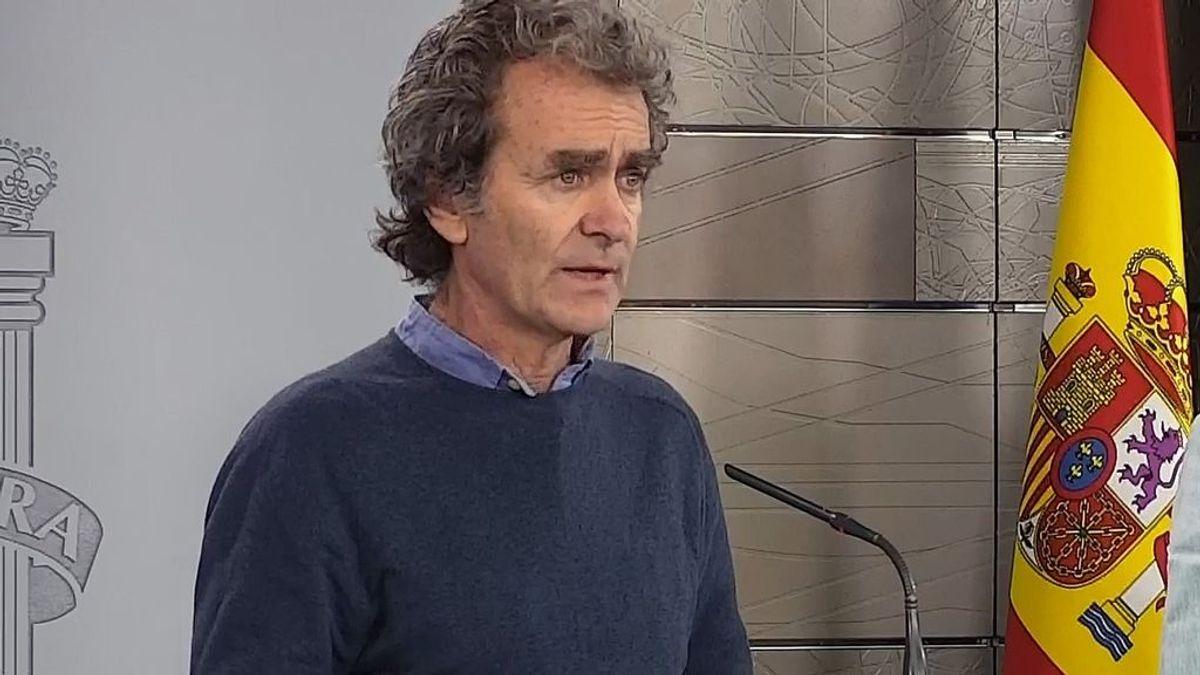 Simón confirma que ya se realizan 700.000 test PCR a la semana en España