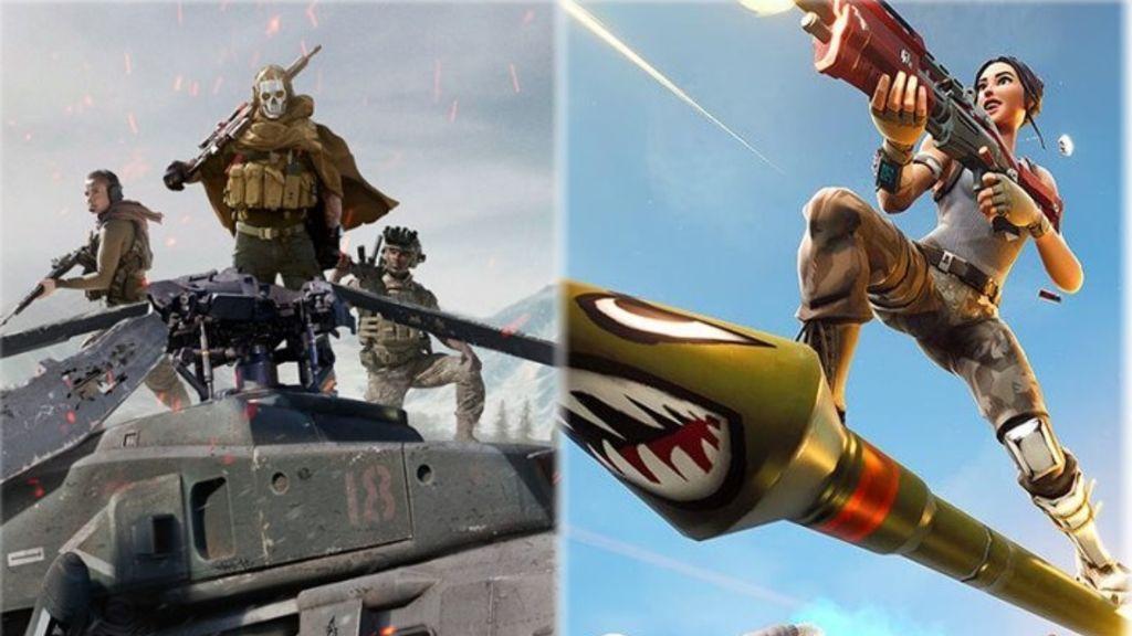 Call of Duty: Warzone y Fortnite