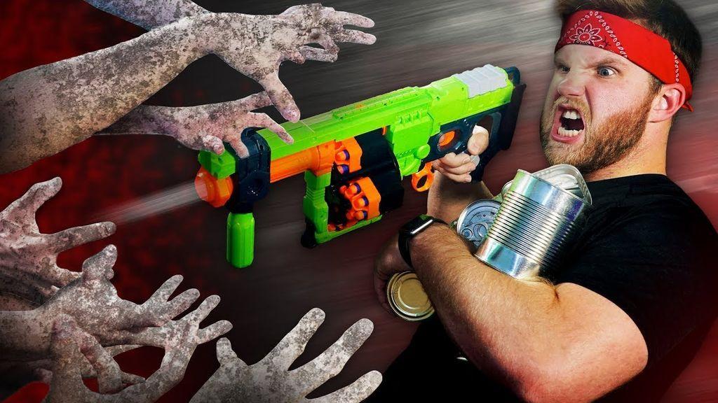 La invasión zombie ha llegado a tu casa con un nuevo desafío Nerf: solo tú puedes acabar con ellos