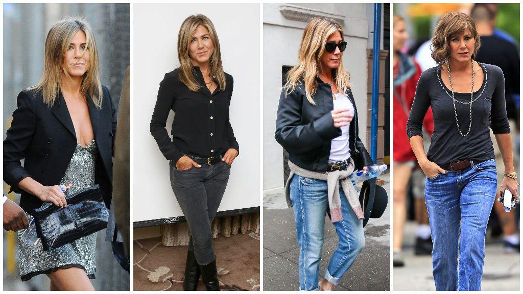 Jennifer es muy fan de las blazers y los vaqueros.