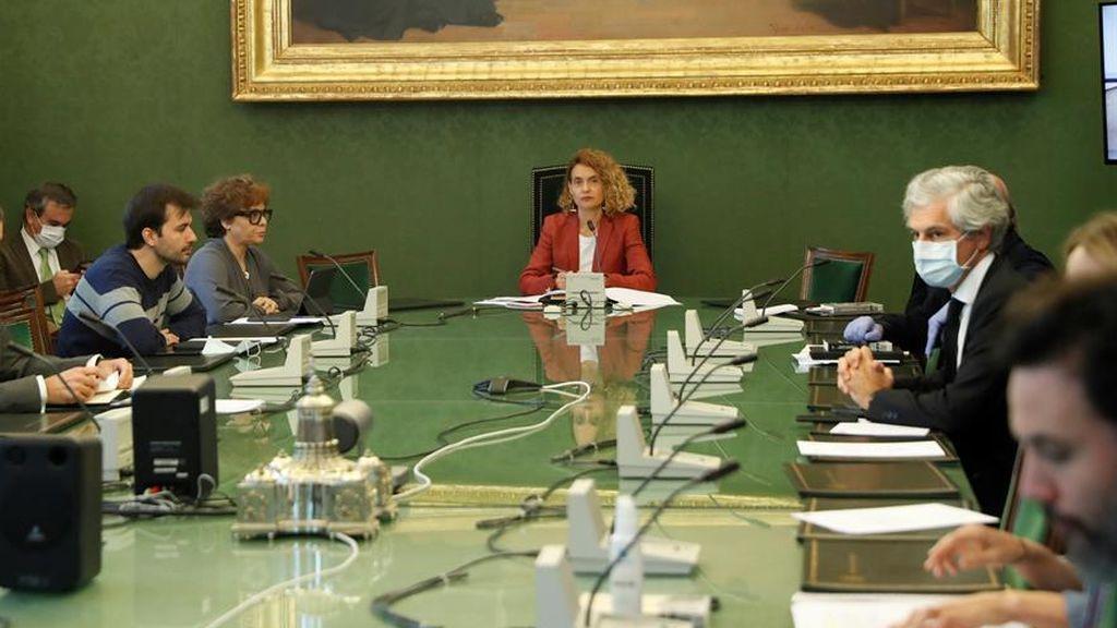 La comisión para la reconstrucción tras el coronavirus se retrasa en el Congreso