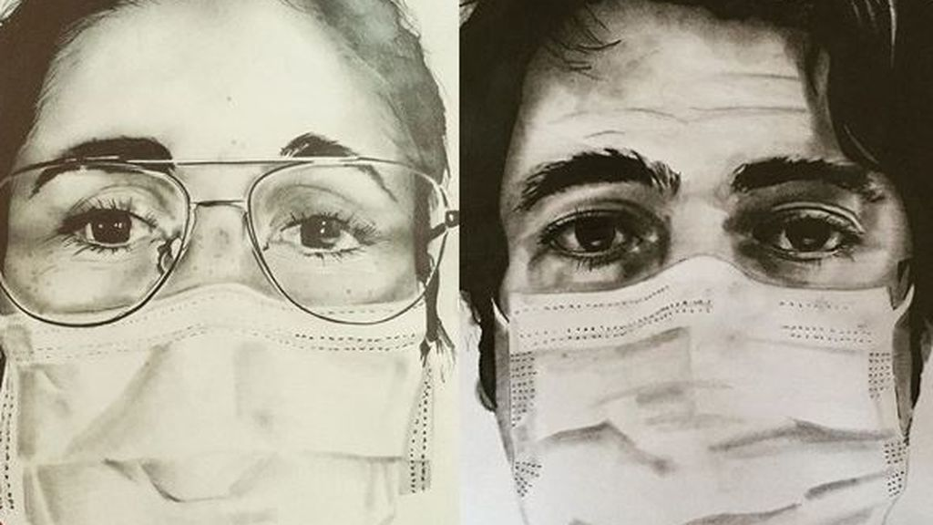 David Gómez, el celador que retrata a los 'No heroes' del coronavirus