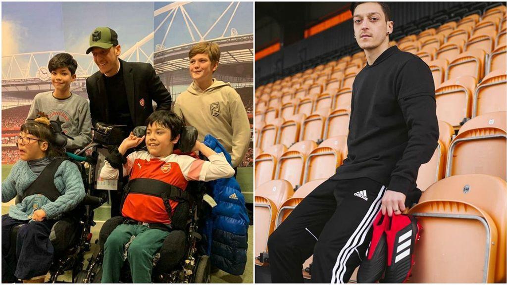 """La buena obra de Mesut Özil para ayudar a los más necesitados: """"Gano demasiado y no puedo gastarlo todo en mí"""""""