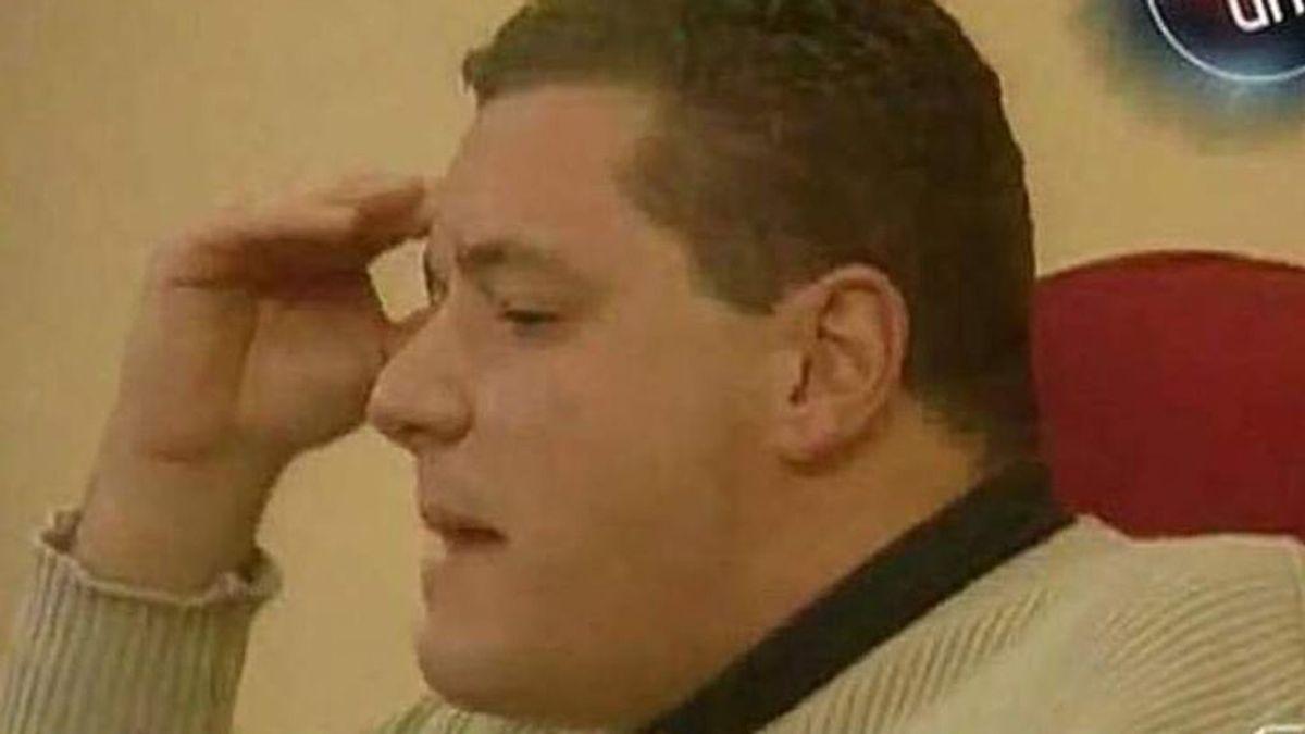 """Jorge Berrocal hizo historia en 'Gran Hermano' con una frase tras la expulsión de Mª José Galera: """"¿Quién me pone la pierna encima?"""""""
