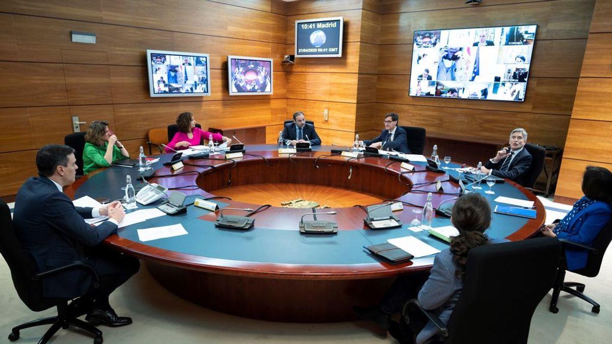 El presidente del Gobierno, Pedro Sánchez, preside la reunión del Consejo de Ministros