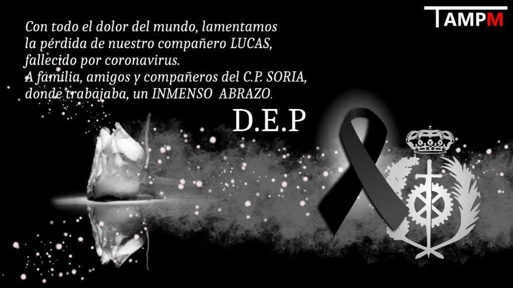 Fallece por coronavirus Lucas Fernández Pacheco, jefe del centro penitenciario de Soria