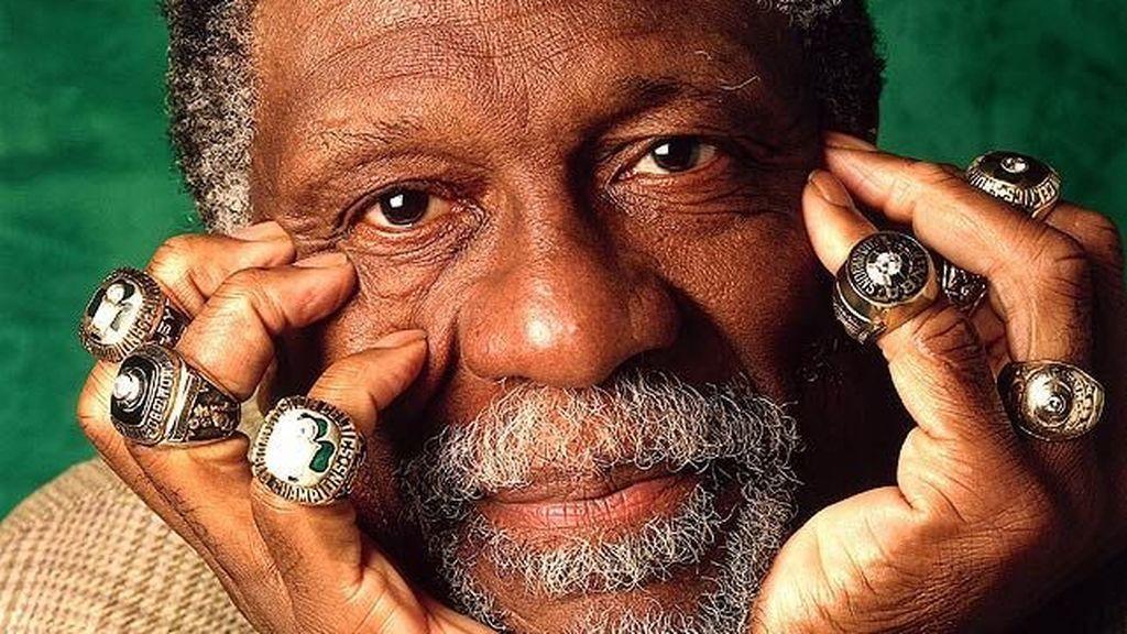 Bill Russell el jugador de la NBA que más anillos ha conseguido en la NBA