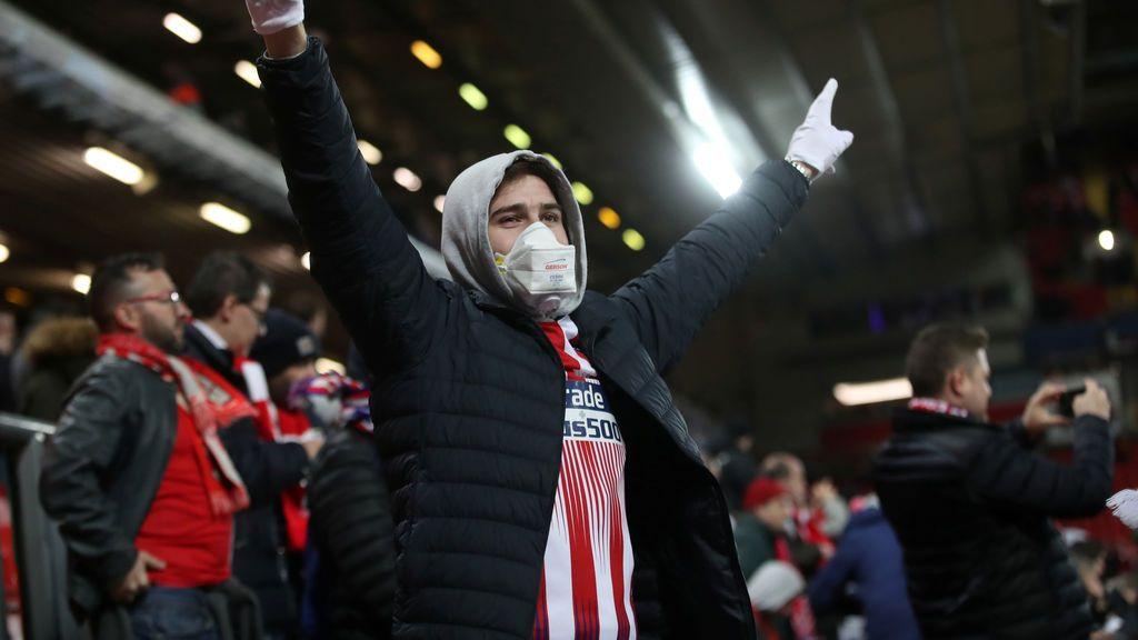 El Gobierno británico podría investigar el papel que jugaron los hinchas del Atlético en los contagios en Liverpool