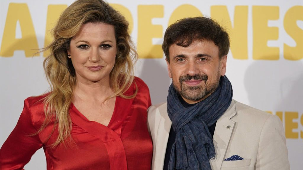 José Mota con su mujer, Patricia Rivas, en un estreno (2018)