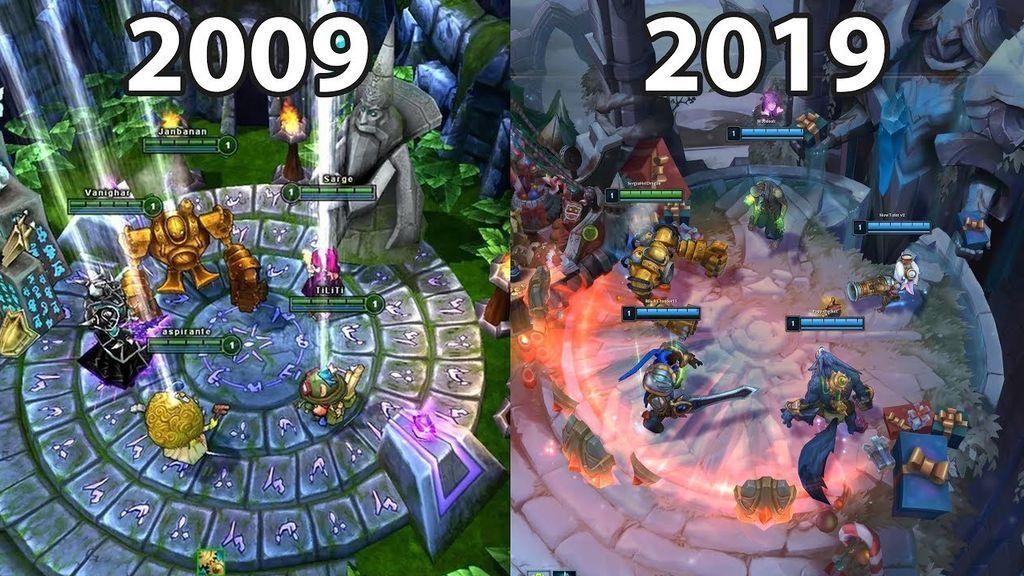 Evolución LoL