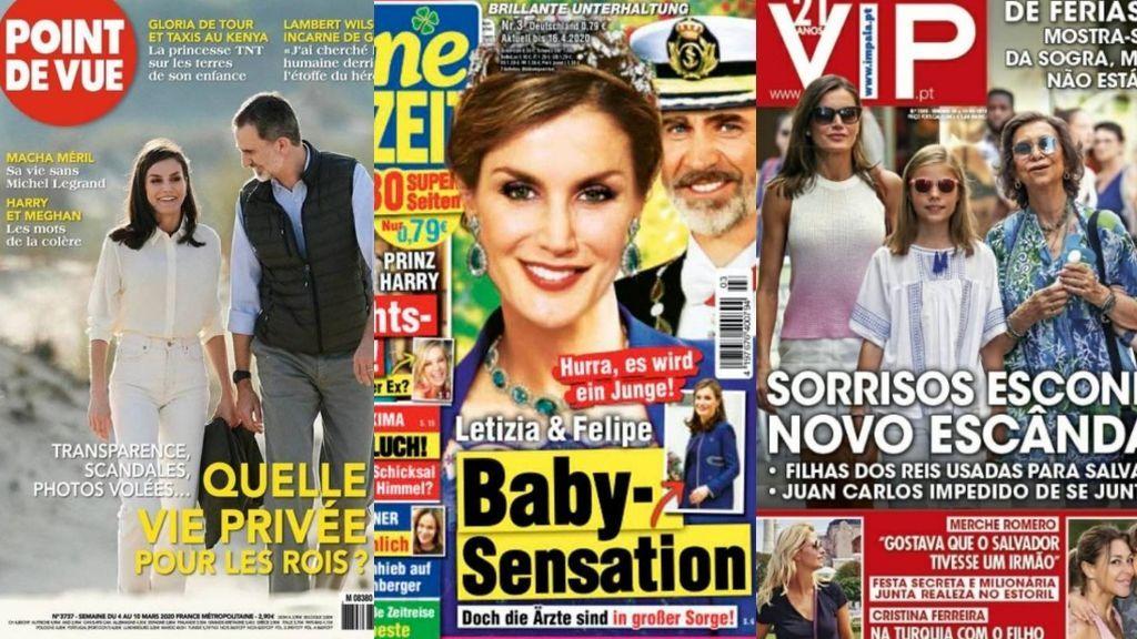 La obsesión de la prensa internacional por la Reina Letizia