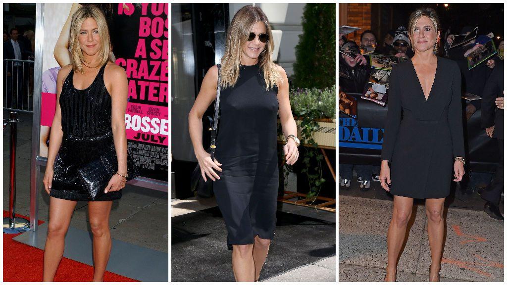 Jennifer Aniston, experta en los LBD.