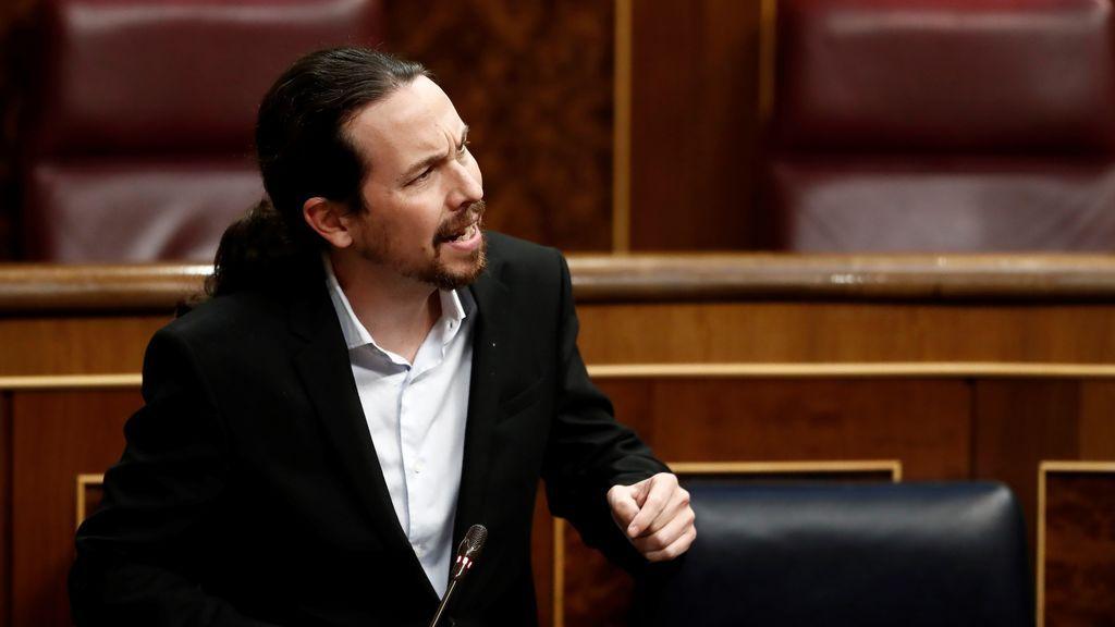 La 'paguita' de Abascal y la ropa de Pablo Iglesias calientan las redes