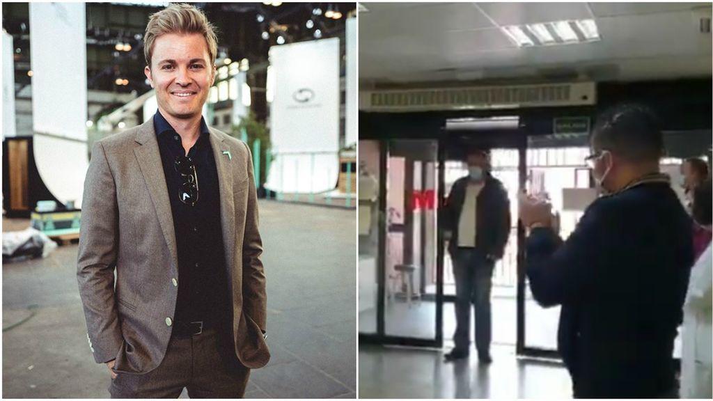 """La historia del taxista de Alcorcón que lleva a los pacientes gratis al médico y emociona a Nico Rosberg: """"No paro de llorar"""""""