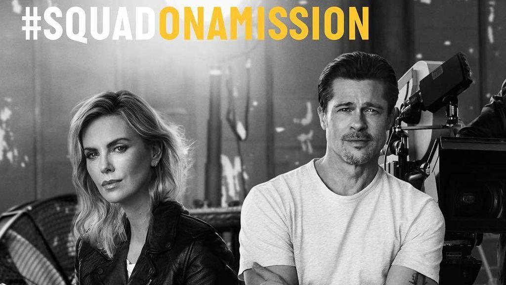 El anuncio en el que han coincidido Brad y Charlize.