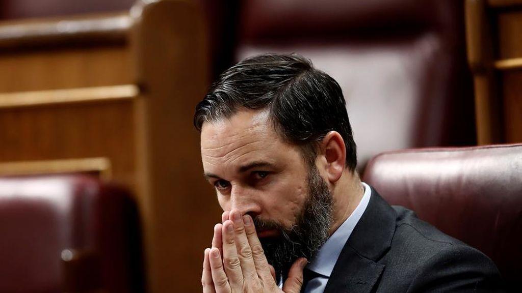 Abascal  suma a Vox a la mesa de reconstrucción del Congreso para pedir la dimisión del Gobierno