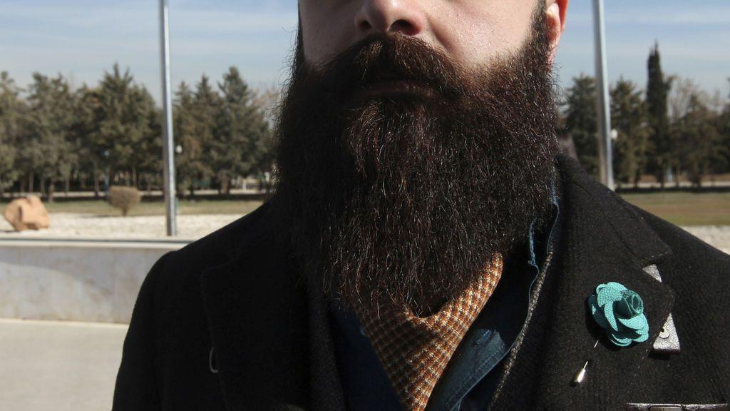 Ejemplo de barba frondosa
