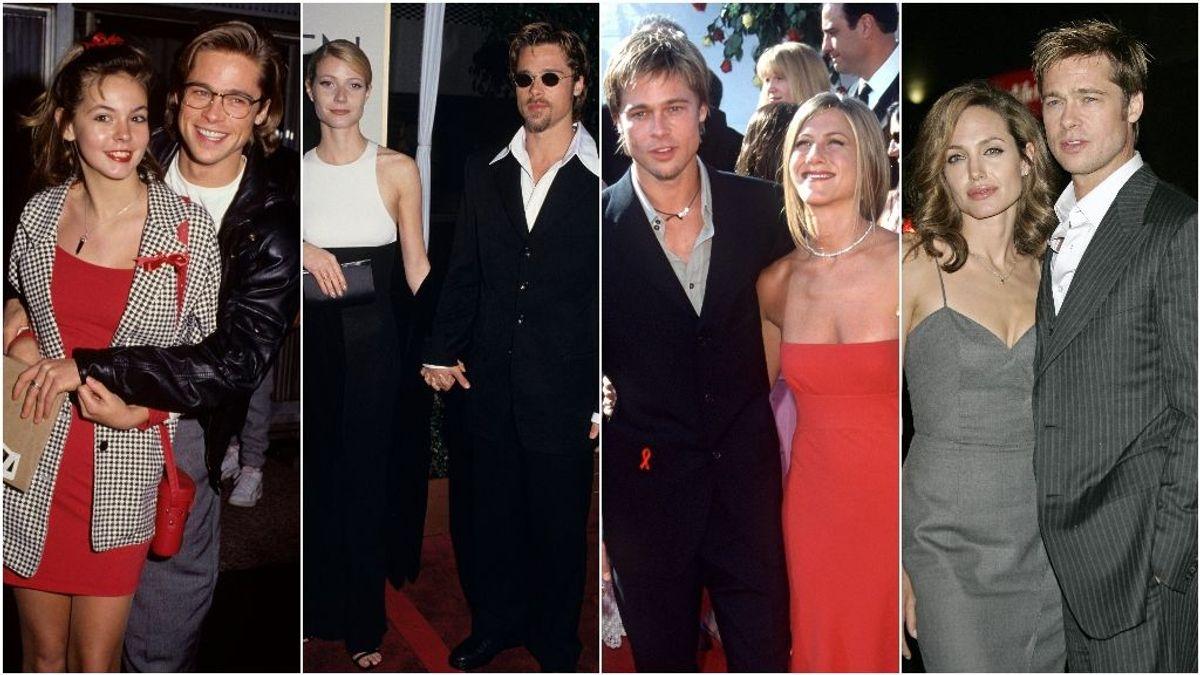 Estos son los romances más sonados de Brad Pitt.