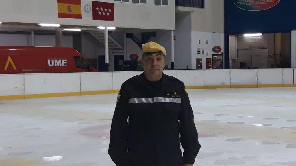"""José Martín Corrochano, capitán de la UME : """"Lo hemos sentido como si en cada caja hubiese un familiar nuestro"""""""