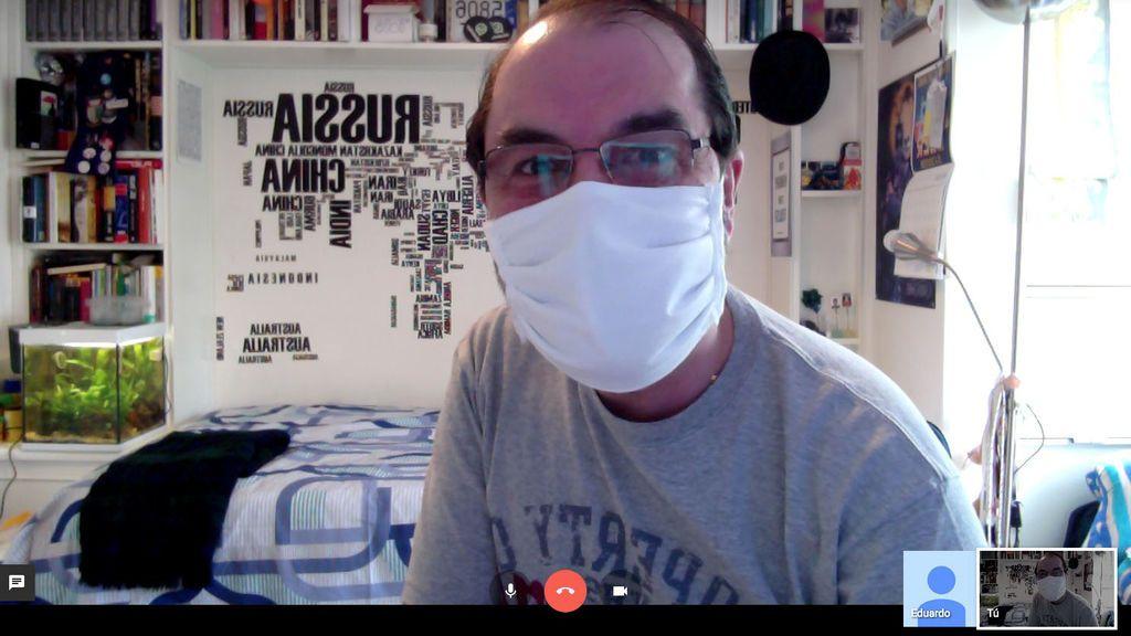 """José Pino, enfermo de coronavirus: """"No saben qué hacer con el paciente cuando sale del hospital"""""""